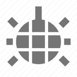 ball, disco icon