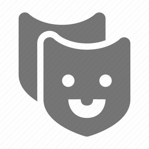 Comedy, mask, theater icon - Download on Iconfinder