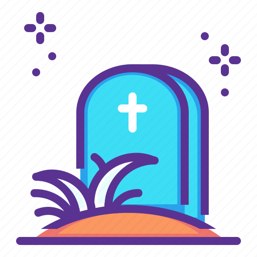 easter, grave, halloween, lent, stone, tomb, yard icon