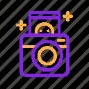 birthday, camera, image, instant, party, photo, photography icon