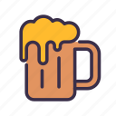 beer, christmas, drink, party icon
