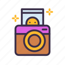 camera, image, instant, party, photo, photography, picture icon