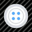 button, accessories, clothes icon