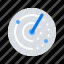 radar, scan, scanning icon