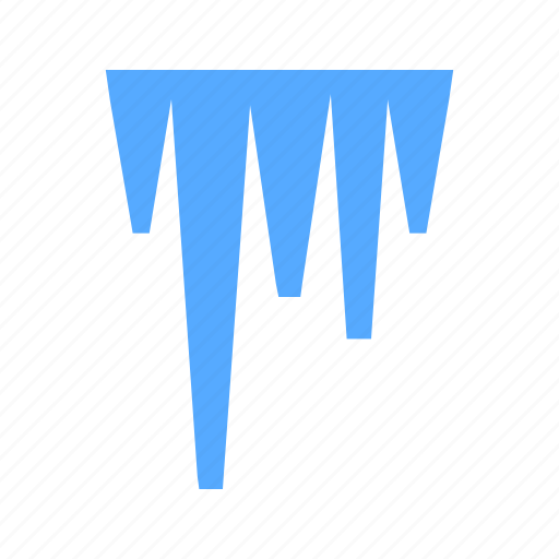 cold, ice, icicle icon