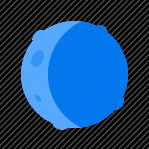 moon, new, quarter icon