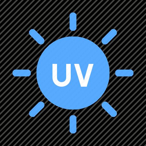 radiation, ultraviolet, uv icon