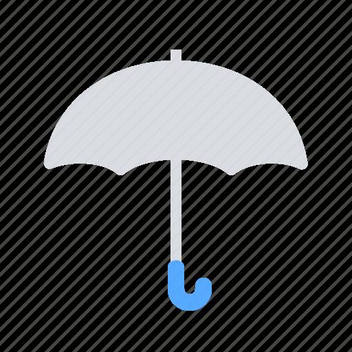 precipitation, rain, umbrella icon