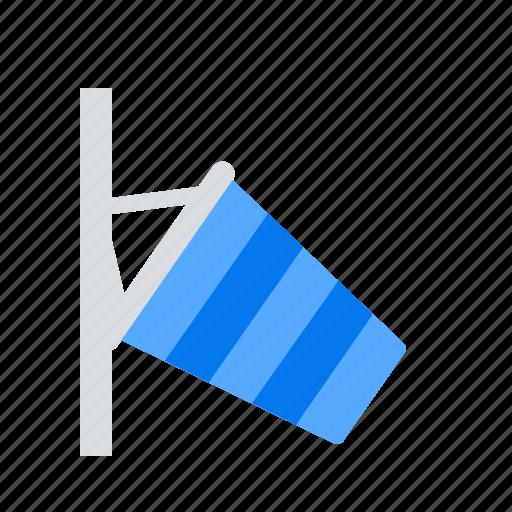 breeze, flag, wind icon