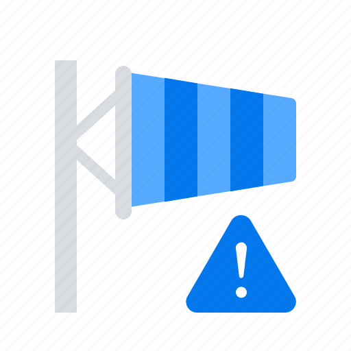 danger, storm, warning icon