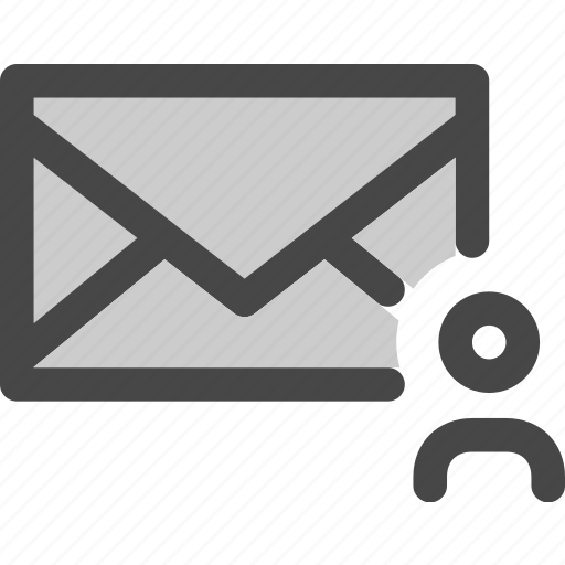 avatar, envelope, mail, message, user icon