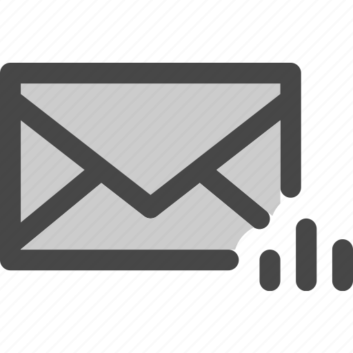 data, envelope, mail, message, performance, statistics icon