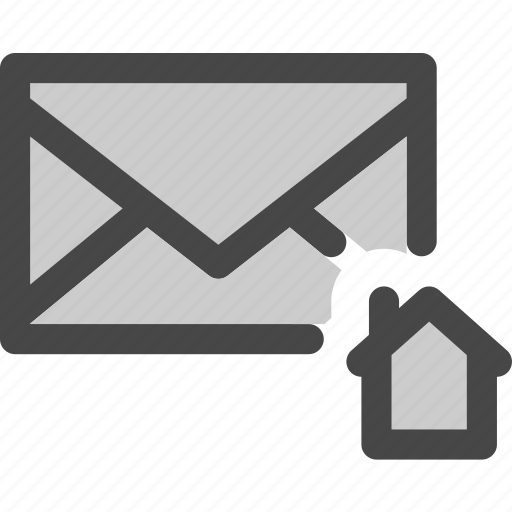 envelope, home, homepage, internet, mail, message icon