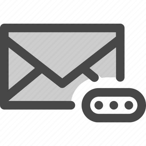 account, envelope, mail, message, password, protected icon