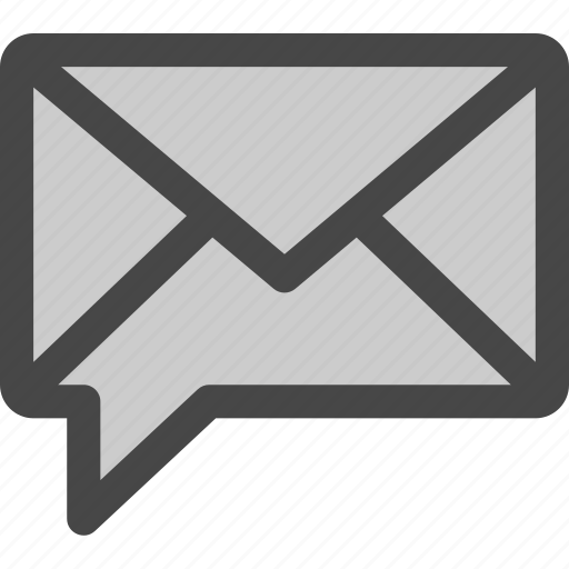 chat, communication, envelope, letter, mail, message icon