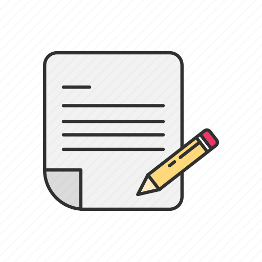letter, mail, message, write icon