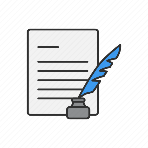 letter, mail, message, text icon