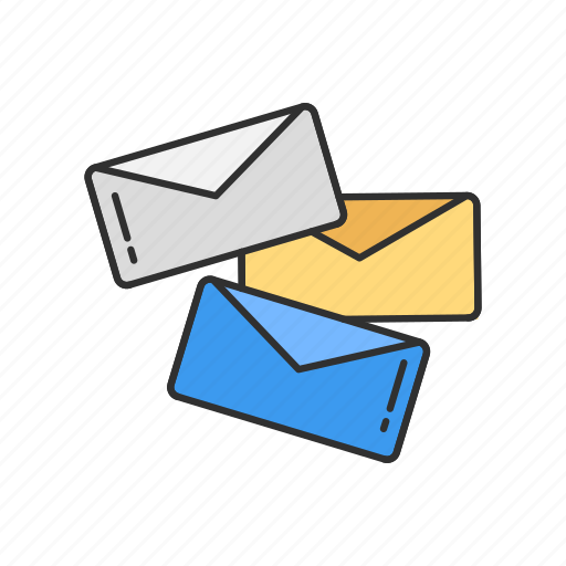 envelope, letters, mail, message icon