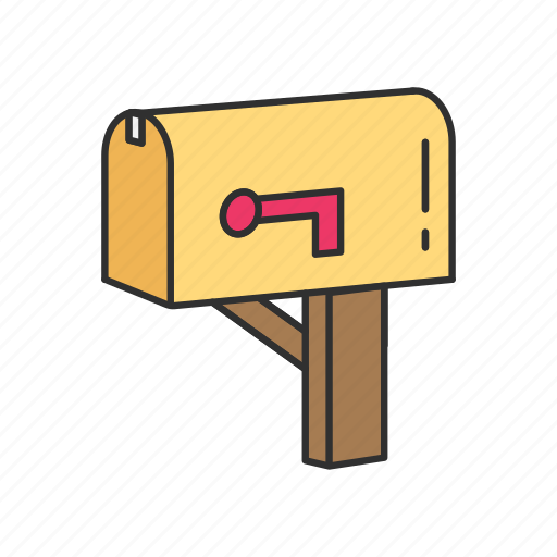 letters, mail, mailbox, message icon
