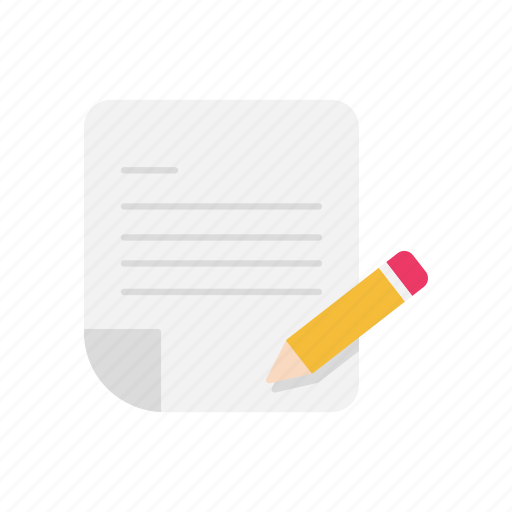 letter, message, pencil, write icon