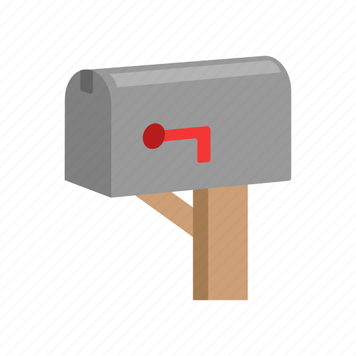 close mailbox, letter, mail, mailbox icon