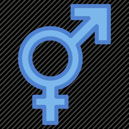 Bigender, gender, sex, shapes icon - Download on Iconfinder