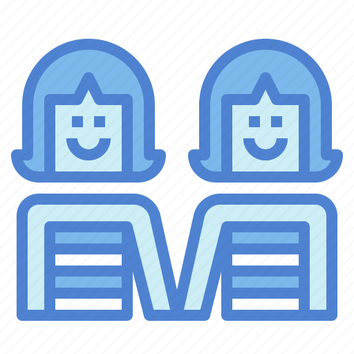 Couple, lesbian, people, women icon - Download on Iconfinder