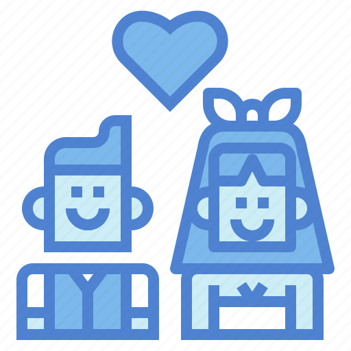 couple, love, marriage, people icon