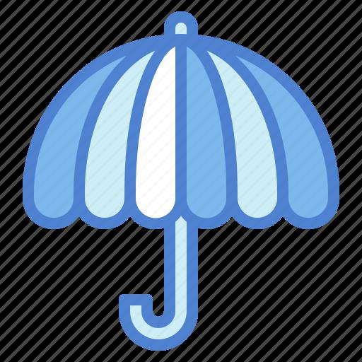 protection, rain, rainbow, umbrella icon