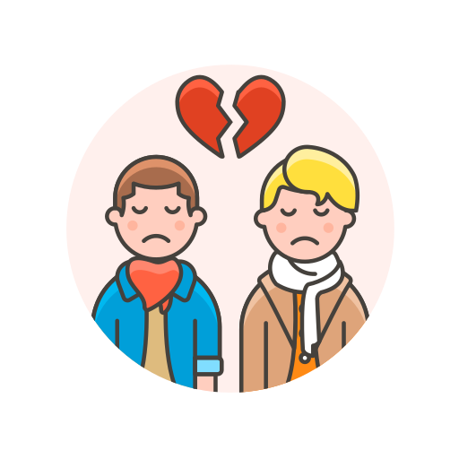 Breakup, couple, gay icon - Free download on Iconfinder