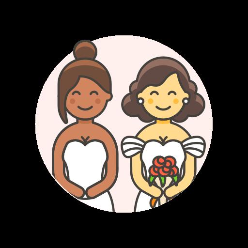 gowns, lesbian, wedding icon