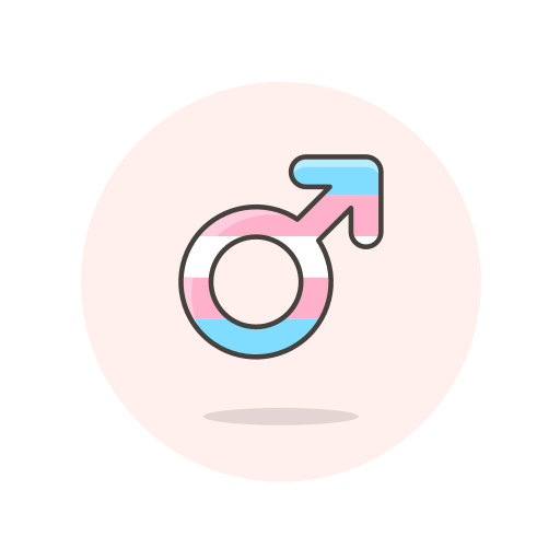 male, sign, transgender icon