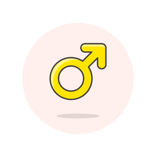 male, sign icon