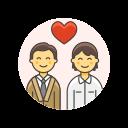 couple, love, gay