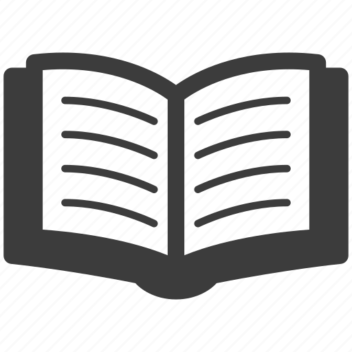 book, content, library, open, textbook icon