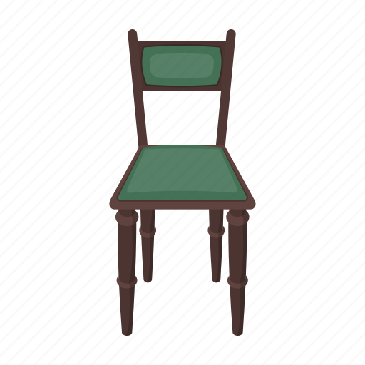 chair, furniture, household, interior, library icon