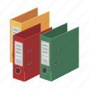 data, document, file, folder, library, paper icon