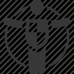 life insurance, life protection, shield icon