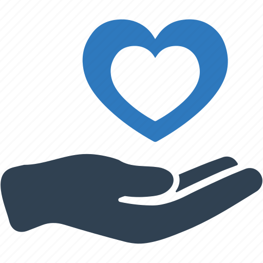health insurance, heart health, love, protection icon