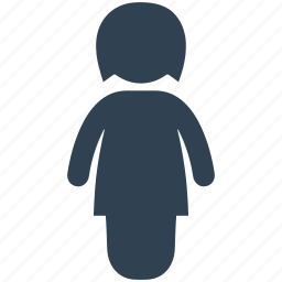 baby, child, female, girl, infant, kid, teenager icon