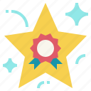 award, excellent, feedback, prize, star, win icon