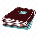 book, close, dictionary, notebook, paperback icon