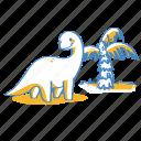 brontosaurus, dino, dinosaur icon