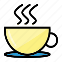 coffee, drink, lifestye icon