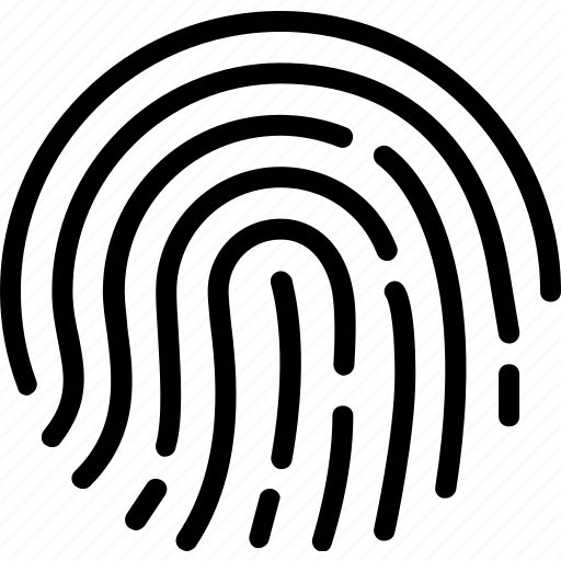 finger, print, unique icon