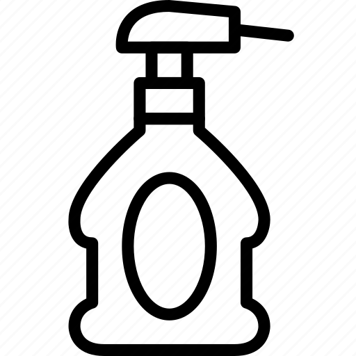 cleaning, house, keeping, product, spray icon