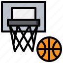 and, basketball, competition, free, hobbies, sports, time icon