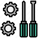 and, construction, home, improvement, repair, tools, wrench icon
