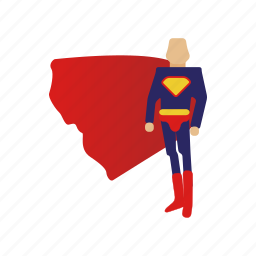 character, man, super, superman icon