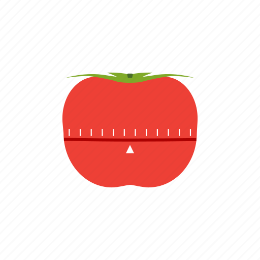 pomodoro, pomodoro technique, timer, tomato icon